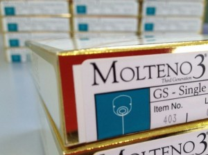 Molteno3® GS Single Plate 175mm2 Implant boxes