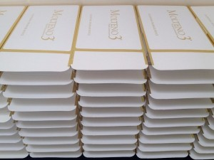 Molteno3® Glaucoma implant boxes being packed
