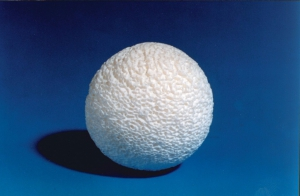 M-Sphere® orbital implant is a natural hydroxyapatite mineral framework