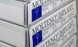 Molteno® Pressure Ridge Single Plate (D1) Implant boxes